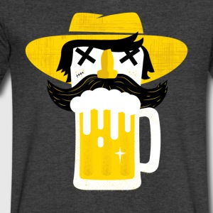 BEERMAN - Men's V-Neck T-Shirt by Canvas