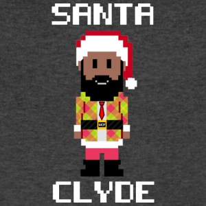 Santa Clyde So Fly (Limited Edition) - Men's V-Neck T-Shirt by Canvas