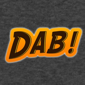 DAB! - Men's V-Neck T-Shirt by Canvas