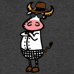Tippy Cow - Men's V-Neck T-Shirt by Canvas