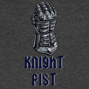ARMOR KNIGHT FIST - Men's V-Neck T-Shirt by Canvas