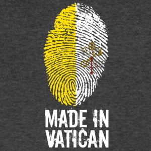 Made In Vatican / Pope / Catholicism / Christ - Men's V-Neck T-Shirt by Canvas