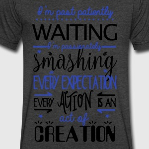 Past Patiently Waiting! - Men's V-Neck T-Shirt by Canvas