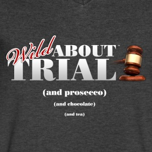 Wild About Trial and.... - Men's V-Neck T-Shirt by Canvas