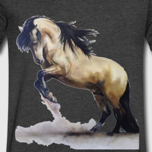 horse 5 - Men's V-Neck T-Shirt by Canvas