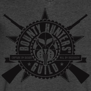 Bounty Hunters Guild - Men's V-Neck T-Shirt by Canvas