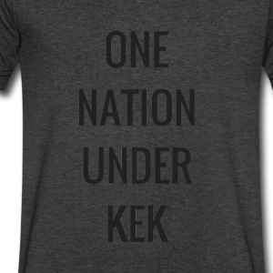One Nation Under KEK - Men's V-Neck T-Shirt by Canvas