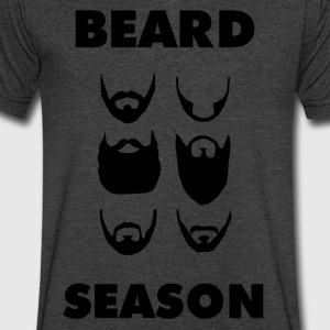 Beard_Season_01 - Men's V-Neck T-Shirt by Canvas