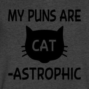 My Puns Are Catastrophic - Men's V-Neck T-Shirt by Canvas