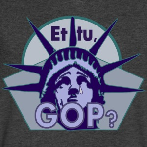 Et tu, GOP? - Men's V-Neck T-Shirt by Canvas