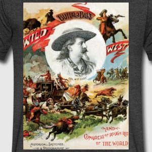 BuffaloBill poster art - Men's V-Neck T-Shirt by Canvas
