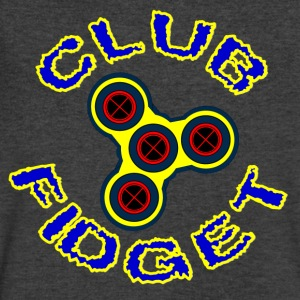 Fidget Spinner - Club Fidget - Men's V-Neck T-Shirt by Canvas
