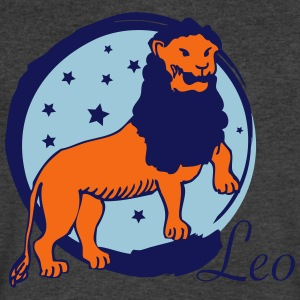 Leo - Men's V-Neck T-Shirt by Canvas