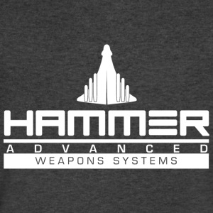 Hammer Advanced Weapons Systems - Men's V-Neck T-Shirt by Canvas