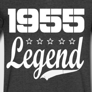 55 legend - Men's V-Neck T-Shirt by Canvas