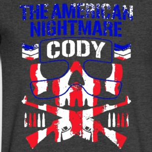 The American Nightmare - Men's V-Neck T-Shirt by Canvas