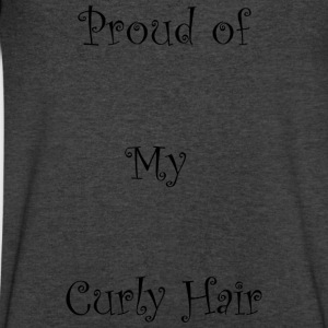 Proud of My Hair Hair - Men's V-Neck T-Shirt by Canvas