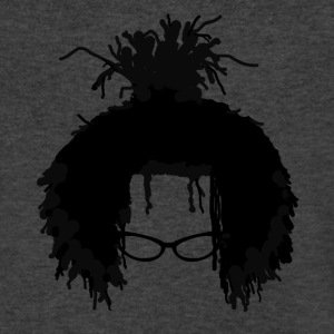 Afro Dread - Men's V-Neck T-Shirt by Canvas