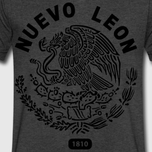 Nuevo Leon Mexico T Shirt - Men's V-Neck T-Shirt by Canvas