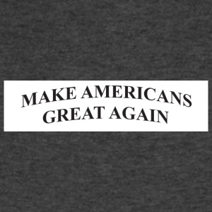 make americans great again - Men's V-Neck T-Shirt by Canvas