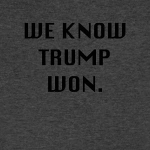 WEKNOWTRUMPWON - Men's V-Neck T-Shirt by Canvas