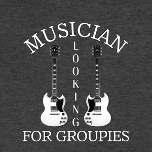 Musician - Men's V-Neck T-Shirt by Canvas