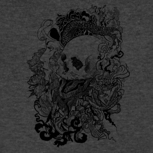 Skull Enchanted - Men's V-Neck T-Shirt by Canvas
