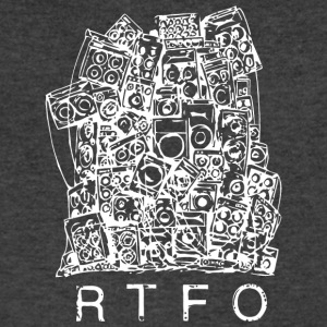 RTFO Remix Asphalt - Men's V-Neck T-Shirt by Canvas