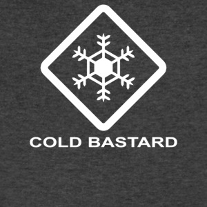 Cold Bastard - Men's V-Neck T-Shirt by Canvas