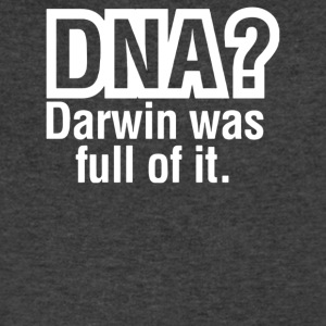 DNA Darwin Was Full Of It - Men's V-Neck T-Shirt by Canvas