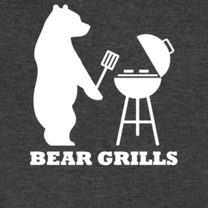Bear Grills - Men's V-Neck T-Shirt by Canvas