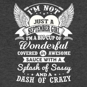 I m Not Just A September Girl - Men's V-Neck T-Shirt by Canvas