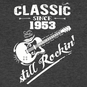 Classic Since 1953 and still Rokin - Men's V-Neck T-Shirt by Canvas
