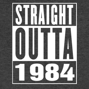 Straight Outa 1984 - Men's V-Neck T-Shirt by Canvas