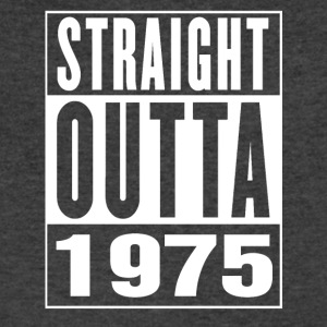 Straight Outa 1975 - Men's V-Neck T-Shirt by Canvas