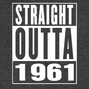 Straight Outa 1961 - Men's V-Neck T-Shirt by Canvas