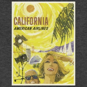 vintage california - Men's V-Neck T-Shirt by Canvas