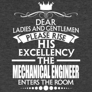 MECHANICAL ENGINEER - EXCELLENCY - Men's V-Neck T-Shirt by Canvas