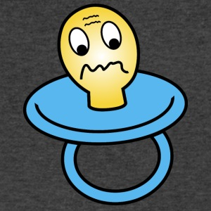 sad looking dummy - Men's V-Neck T-Shirt by Canvas
