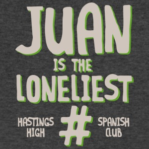 JUAN IS THE LONELIEST HASTINGS HIGH SPANISH CLUB - Men's V-Neck T-Shirt by Canvas