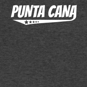 Punta Cana Retro Comic Book Style Logo - Men's V-Neck T-Shirt by Canvas