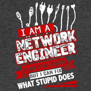 I Am A Network Engineer T Shirt - Men's V-Neck T-Shirt by Canvas