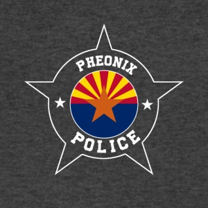 Phoenix Police T Shirt - Arizona flag - Men's V-Neck T-Shirt by Canvas