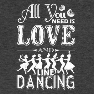 All You Need Is Love And Line Dancing Shirt - Men's V-Neck T-Shirt by Canvas
