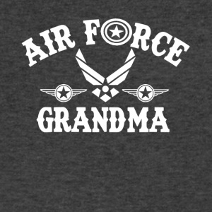 Airforce Grandma Shirt - Men's V-Neck T-Shirt by Canvas