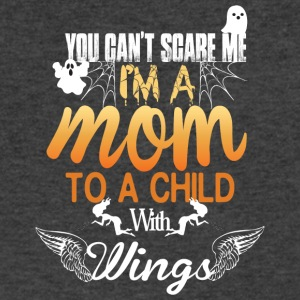 I'm A Mom To A Child With Wings T Shirt - Men's V-Neck T-Shirt by Canvas