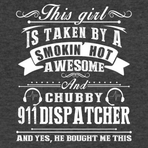 Smokin Hot Awesome 911 Dispatcher Shirt - Men's V-Neck T-Shirt by Canvas