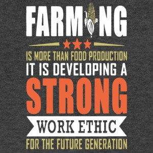 Farming Is More Than Food Production T Shirt - Men's V-Neck T-Shirt by Canvas
