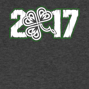 St Patrick's Day 2017 - Men's V-Neck T-Shirt by Canvas