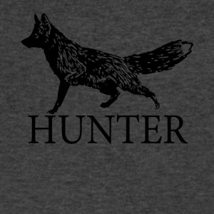 Fox Hunter - Men's V-Neck T-Shirt by Canvas